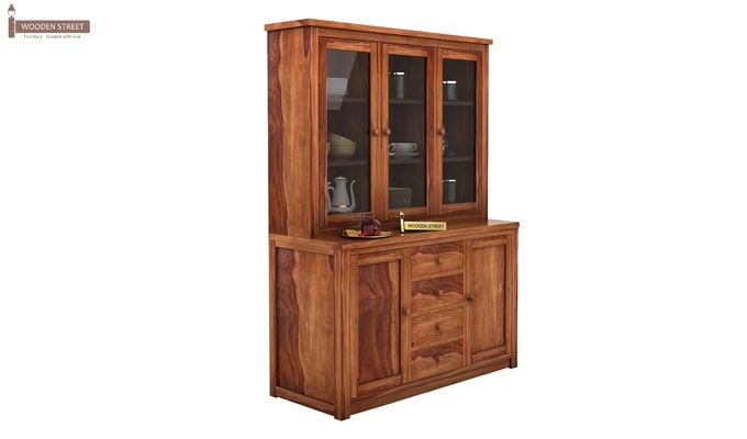 Monarch Kitchen Cabinet (Teak Finish)-2