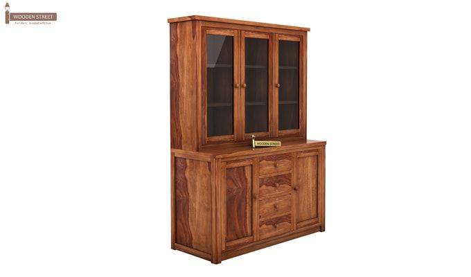 Monarch Kitchen Cabinet (Teak Finish)-3