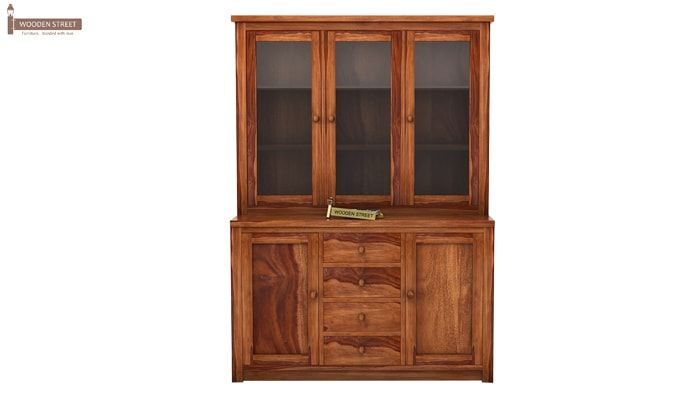Monarch Kitchen Cabinet (Teak Finish)-4