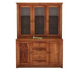 Monarch Kitchen Cabinet (Teak Finish)