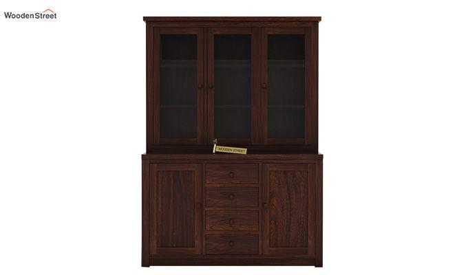 Monarch Kitchen Cabinet (Walnut Finish)-4