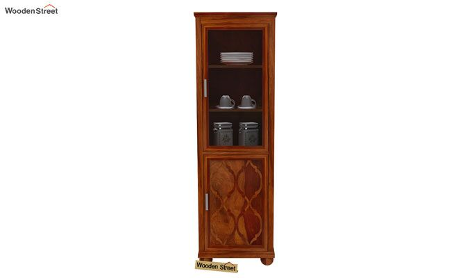 Montana Kitchen Cabinet (Honey Finish)-3