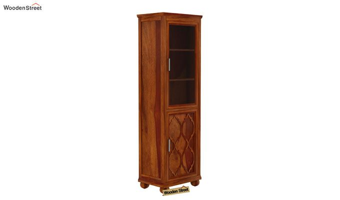 Montana Kitchen Cabinet (Honey Finish)-5
