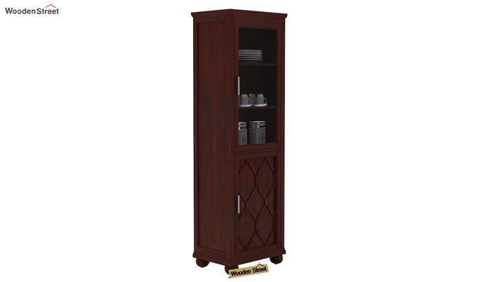 Montana Kitchen Cabinet (Mahogany Finish)-1