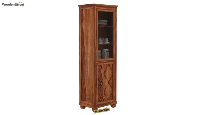Montana Kitchen Cabinet (Teak Finish)-1