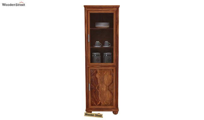 Montana Kitchen Cabinet (Teak Finish)-2