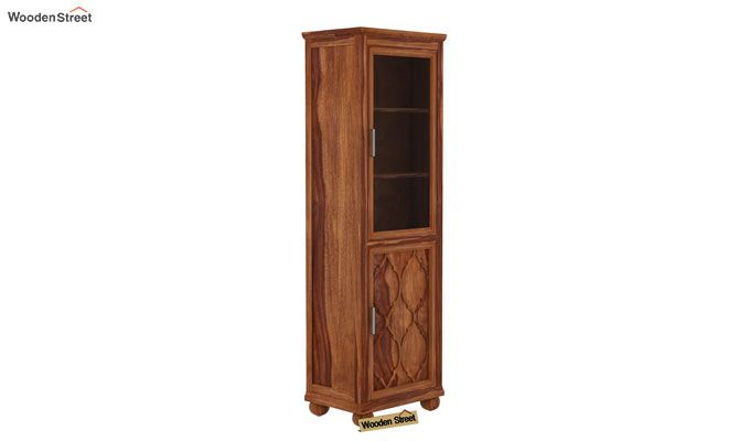 Montana Kitchen Cabinet (Teak Finish)-4