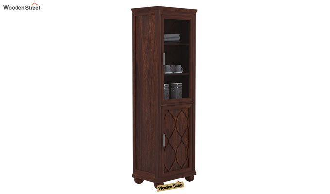 Montana Kitchen Cabinet (Walnut Finish)-1