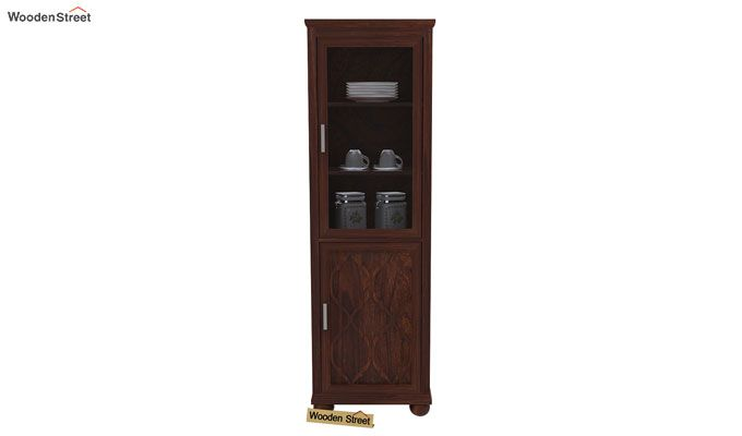 Montana Kitchen Cabinet (Walnut Finish)-2