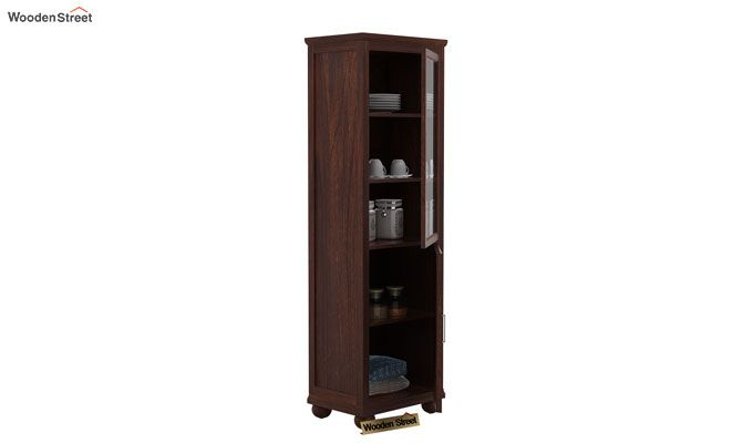 Montana Kitchen Cabinet (Walnut Finish)-3
