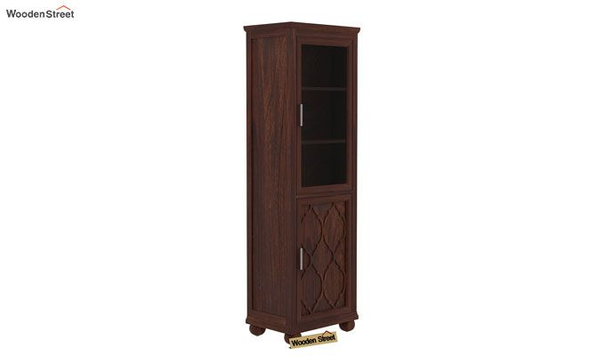Montana Kitchen Cabinet (Walnut Finish)-4