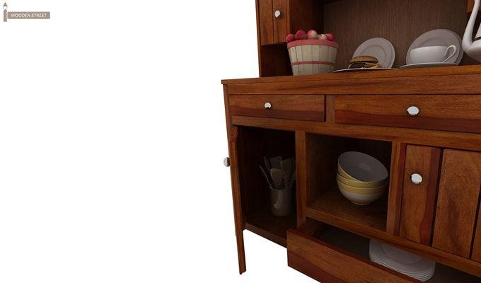 Crestor Kitchen Cabinet (Honey Finish)-6