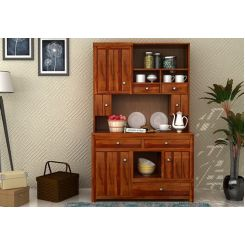 Crestor Kitchen Cabinet (Honey Finish)