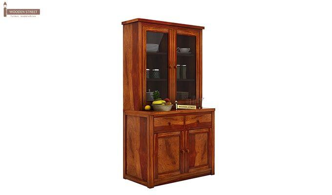 Ravi B CUSTOM Trump Kitchen Cabinet (Honey Finish)-2