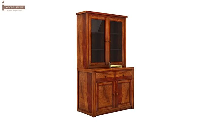 Ravi B CUSTOM Trump Kitchen Cabinet (Honey Finish)-4