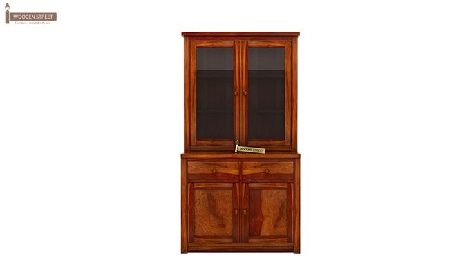 Ravi B CUSTOM Trump Kitchen Cabinet (Honey Finish)-5