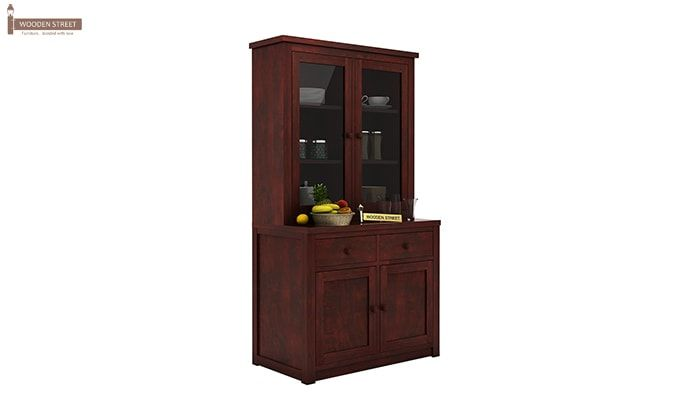 Trump Kitchen Cabinet (Mahogany Finish)-2