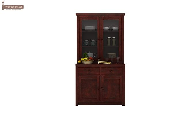 Trump Kitchen Cabinet (Mahogany Finish)-1