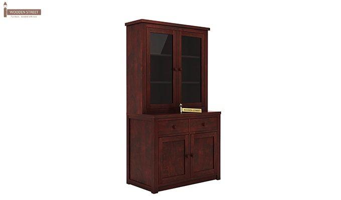 Trump Kitchen Cabinet (Mahogany Finish)-3