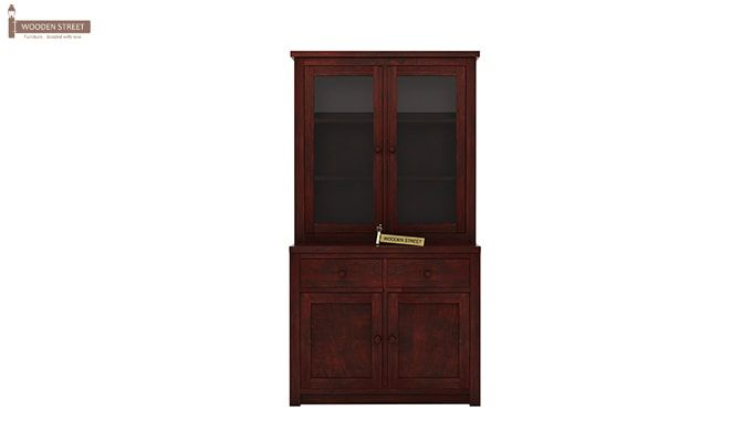 Trump Kitchen Cabinet (Mahogany Finish)-4