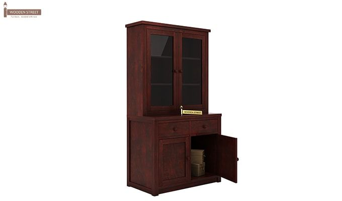 Trump Kitchen Cabinet (Mahogany Finish)-5