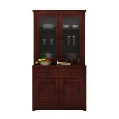 Trump Kitchen Cabinet (Mahogany Finish)