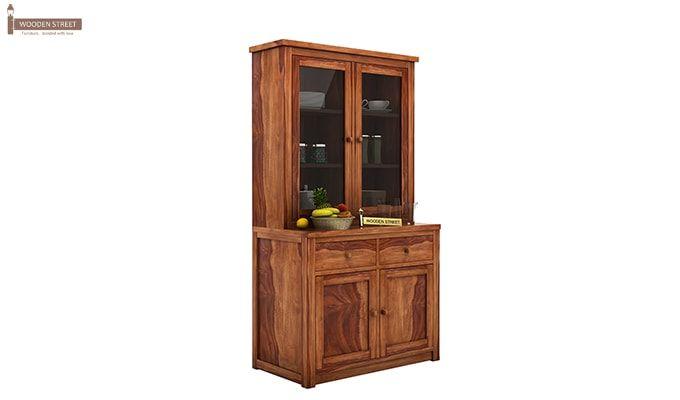 Trump Kitchen Cabinet (Teak Finish)-2
