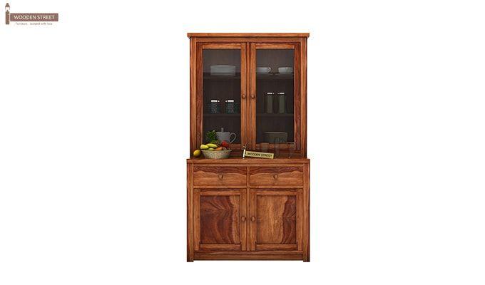 Trump Kitchen Cabinet (Teak Finish)-1