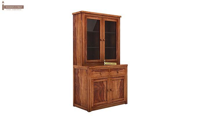 Trump Kitchen Cabinet (Teak Finish)-3
