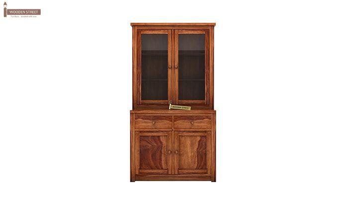 Trump Kitchen Cabinet (Teak Finish)-4