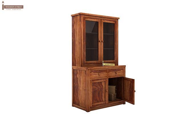Trump Kitchen Cabinet (Teak Finish)-5