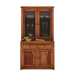 Trump Kitchen Cabinet (Teak Finish)