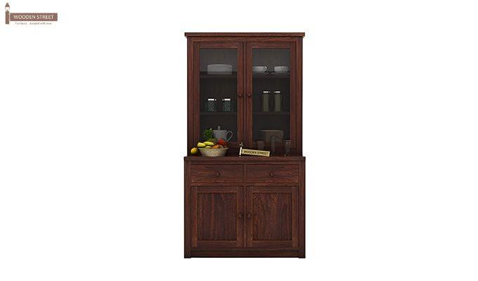 Trump Kitchen Cabinet (Walnut Finish)-1