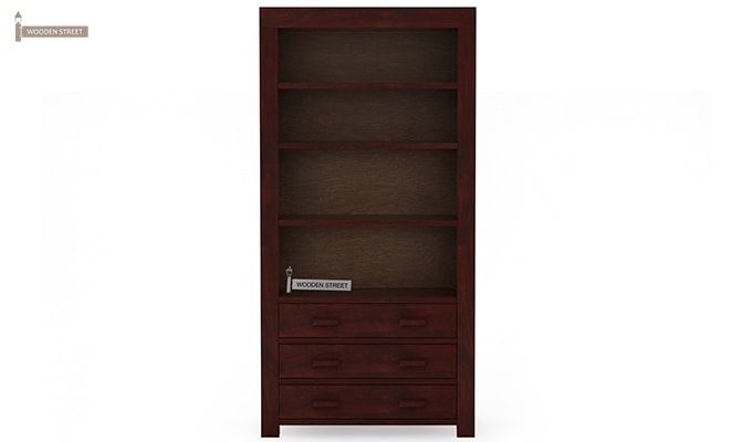 Williams Kitchen Cabinet (Mahogany Finish)-1