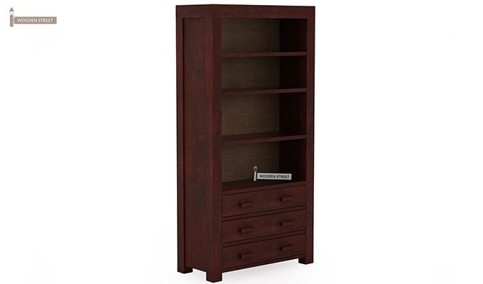 Williams Kitchen Cabinet (Mahogany Finish)-2