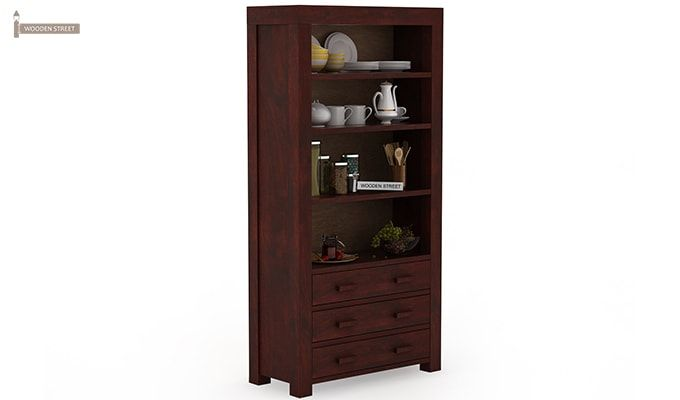 Williams Kitchen Cabinet (Mahogany Finish)-4