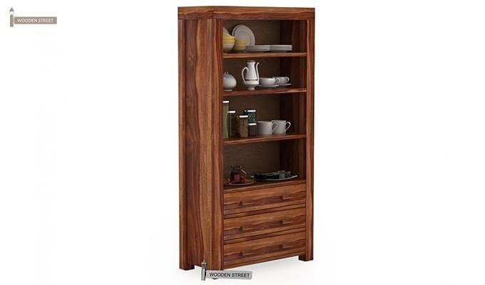Williams Kitchen Cabinet (Teak Finish)-1