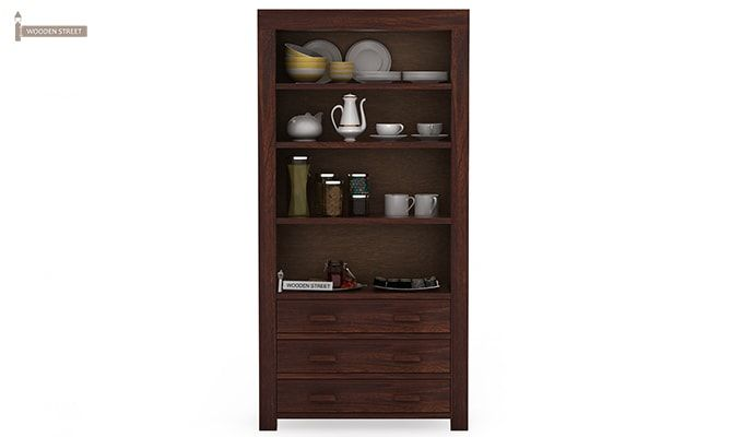 Williams Kitchen Cabinet (Walnut Finish)-3