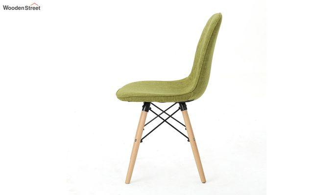 Callay Mid Century Modern Fabric Eiffel Iconic Chair (Green)-5