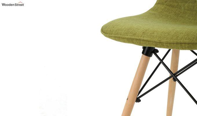 Callay Mid Century Modern Fabric Eiffel Iconic Chair (Green)-6