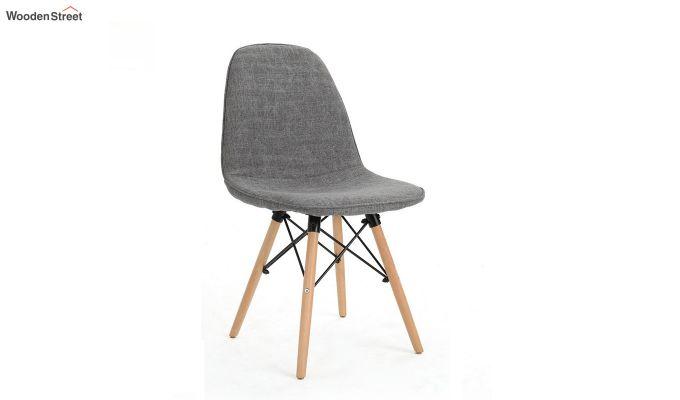 Callay Mid Century Modern Fabric Eiffel Iconic Chair (Grey)-2