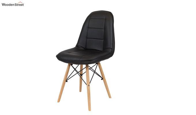 Eames Replica Cushioned Verdi Iconic Chair (Black)-2