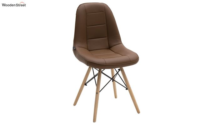Eames Replica Cushioned Verdi Iconic Chair (Brown)-1