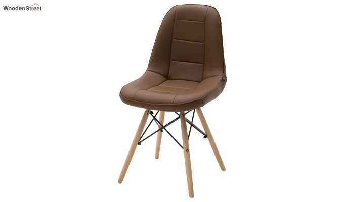 Eames Replica Cushioned Verdi Iconic Chair (Brown)-2