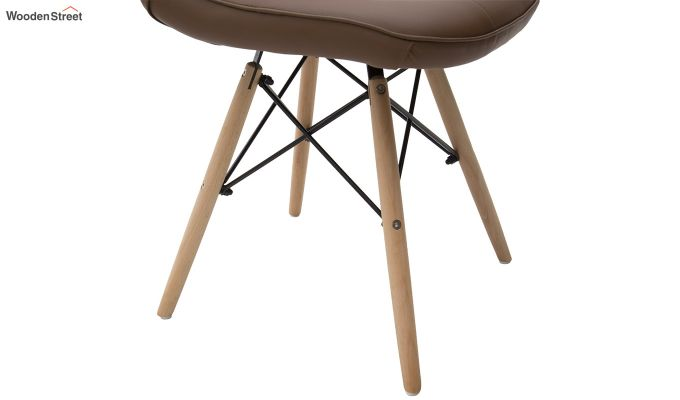 Eames Replica Cushioned Verdi Iconic Chair (Brown)-5