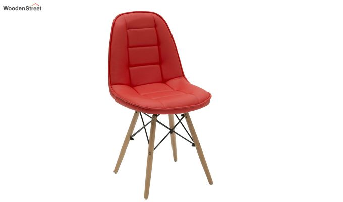 Eames Replica Cushioned Verdi Iconic Chair (Red)-1