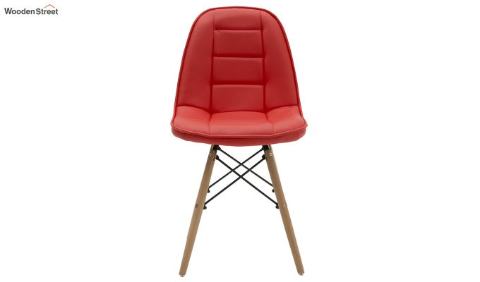 Eames Replica Cushioned Verdi Iconic Chair (Red)-2