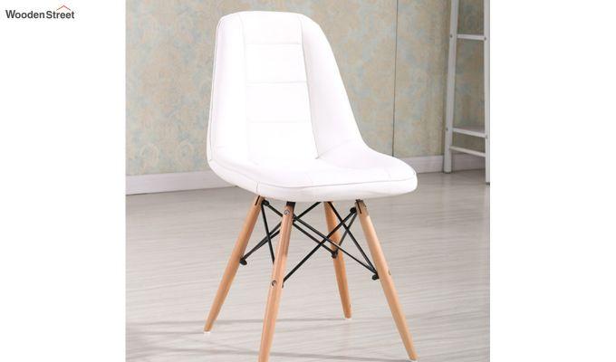 Eames Replica Cushioned Verdi Iconic Chair (White)-1