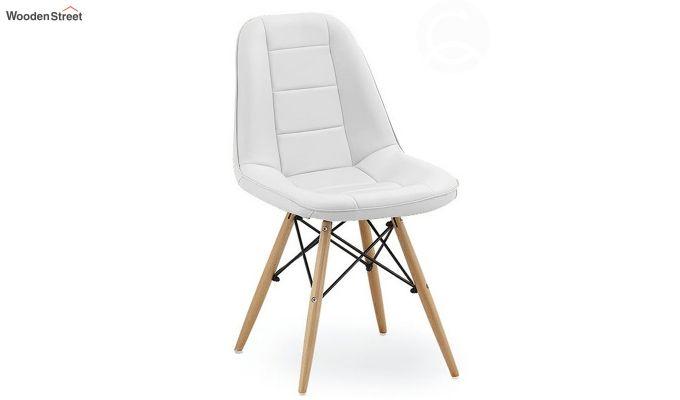 Eames Replica Cushioned Verdi Iconic Chair (White)-2