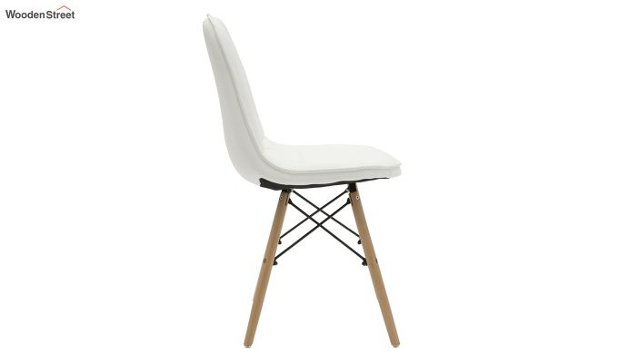 Eames Replica Cushioned Verdi Iconic Chair (White)-4